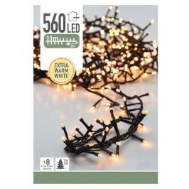 Vianočná svetelná LED reťaz Cluster, 560 mini LED