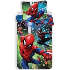 Jerry Fabrics Detské bavlnené obliečky Spiderman 05, 140 x 200 cm, 70 x 90 cm