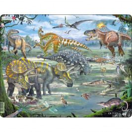 Larsen Puzzle Dinosaury, 65 dielikov