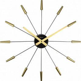 Nextime Plug Inn Gold 2610go nástenné hodiny