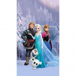 AG ART Detský záves Ľadové kráľovstvo Frozen, 140 x 245 cm