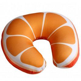 Modom Cestovný vankúšik Pomaranč, 30 x 30 cm