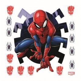 AG Art Samolepiaca dekorácia Spiderman, 30 x 30 cm