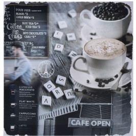 Obraz na plátne Café Sondrio, 29 x 29 cm