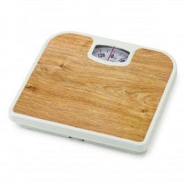Osobná mechanická váha Plank Pine, hnedá