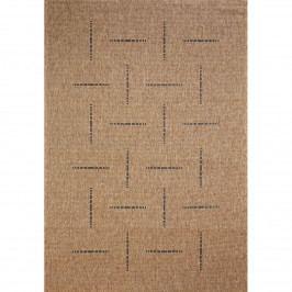 Spoltex Kusový koberec Floorlux coffee/black 20008, 80 x 150 cm