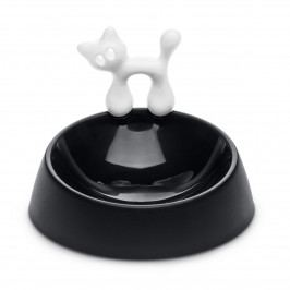 Koziol Miska pre mačku Miaou, čierna