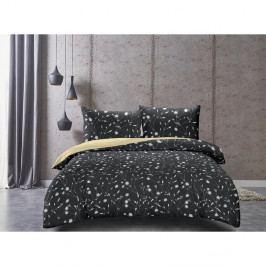 DecoKing Saténové obliečky Dandelion, 160 x 200 cm, 2 ks 70 x 80 cm, 160 x 200 cm, 2 ks 70 x 80 cm