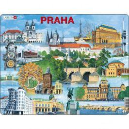 Larsen Puzzle Najzaujímavejšie atrakcie v Prahe, 66 dielikov
