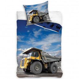 TipTrade Bavlnené obliečky Nákladné auto, 140 x 200 cm, 70 x 90 cm