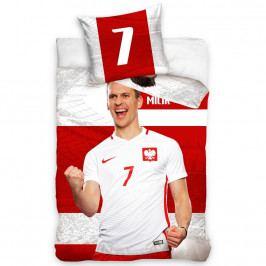 TipTrade Bavlnené obliečky Polska Milik Stripe, 160 x 200 cm, 70 x 80 cm