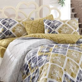 BedTex Bavlnené obliečky Riviéra béžová, 140 x 220 cm, 70 x 90 cm