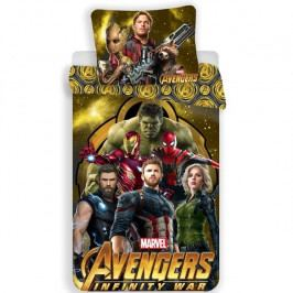 Jerry Fabrics Bavlnené obliečky Avengers Infinity War, 140 x 200 cm, 70 x 90 cm