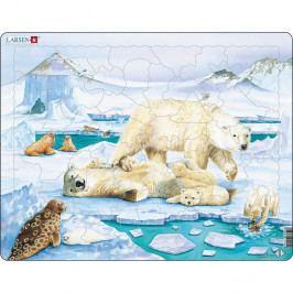 Larsen Puzzle Medvedia rodinka, 54 dielikov