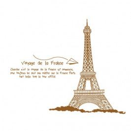 Samolepiaca dekorácia Eiffelova veža