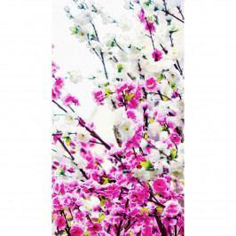AG ART Záves Flowers Pink, 140 x 245 cm