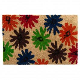 Trade Concept Kokosová rohožka Kvety, 40 x 60 cm,