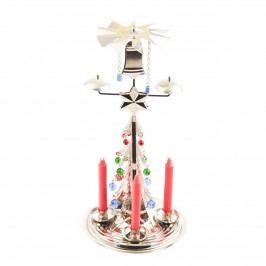 Tradičné anjelské zvonenie Stromček, strieborná