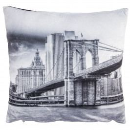 Obliečka na vankúšik mikroplyš Manhattan, 40 x 40 cm