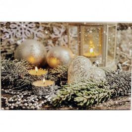 LED Obraz na plátne Vianočné zátišie, 60 x 40 cm