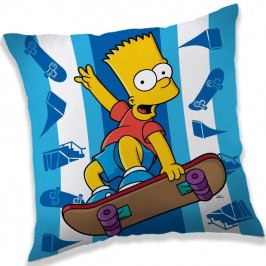 Jerry Fabrics Vankúšik The Simpsons Bart skater, 40 x 40 cm