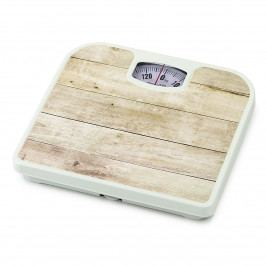 Osobná mechanická váha Plank Maple, biela