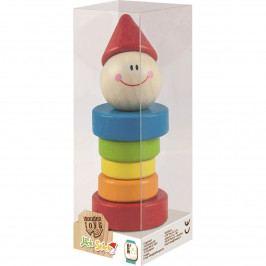 Trefl drevený klaun