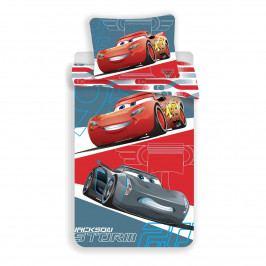 Jerry Fabrics Detské obliečky Cars 95 grey, 140 x 200, 70 x 90 cm