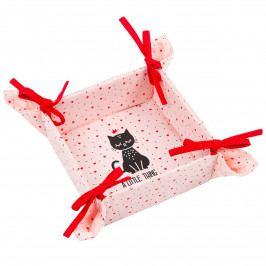 Trade Concept Textilný košík Mačka, 34 x 34 cm