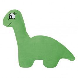 Bellatex Tvarovaný vankúšik Dinosaurus zelená, 45 x 30 cm