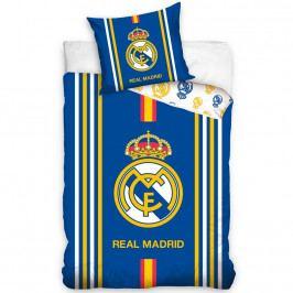 CarboTex Bavlnené obliečky Real Madrid Centro Amarillo, 140 x 200 cm, 70 x 80 cm