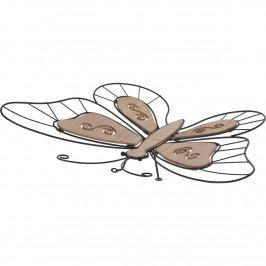 Koopman Drôtená dekorácia Sediaci motýlik, 44 cm