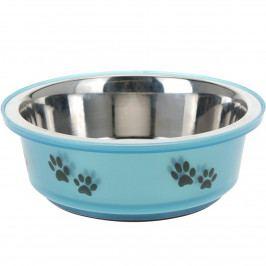 Miska pre psa modrá, 400 ml