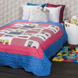 4Home Detský prehoz na posteľ Cars, 140 x 200 cm