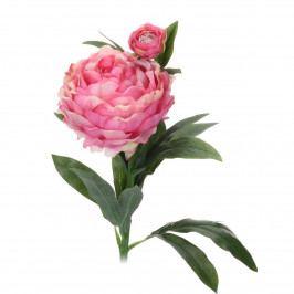 Koopamn Umelá kvetina Pivonka tmavoružová, 61 cm
