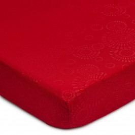 BO-MA Trading Prestieradlo Elisa mikrovlákno červená, 90 x 200 cm