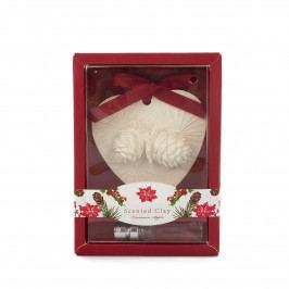 Vianočný vonný íl s olejom Škorica a Jablko červená, 15 cm
