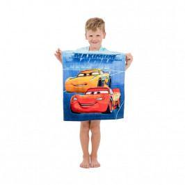 Jerry Fabrics Detské pončo Cars, 50 x 115 cm