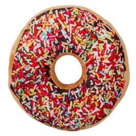 Jahu Tvarovaný vankúšik Donut farebná posýpka, 38 cm