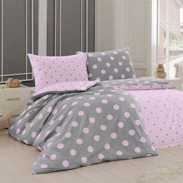 Matějovský Bavlnené obliečky Ponte Pink, 140 x 220 cm, 70 x 90 cm