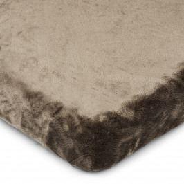 4Home prestieradlo mikroflanel tmavosivá, 90 x 200 cm