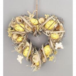 Veľkonočné srdce Easter, 24 cm