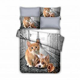 DecoKing Obliečky Anilove Little Pair, 200 x 220 cm, 2 ks 80 x 80 cm