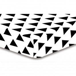 DecoKing Prestieradlo Triangles S1, 90 x 200 cm