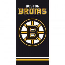 TipTrade Osuška NHL Boston Bruins Black, 70 x 140 cm
