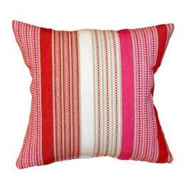 FORBYT Obliečka na vankúšik Stripe červená, 40 x 40 cm