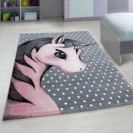 Vopi Kusový detský koberec Kids 590 pink, 120 x 170 cm