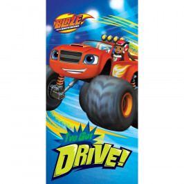 TipTrade Osuška Blaze Monster Truck Drive, 70 x 140 cm