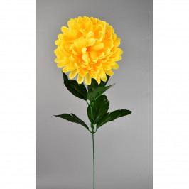 Umelá kvetina Chryzantéma 50 cm, žltá