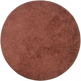 Vopi Kusový koberec Color shaggy hnedá, 100 cm